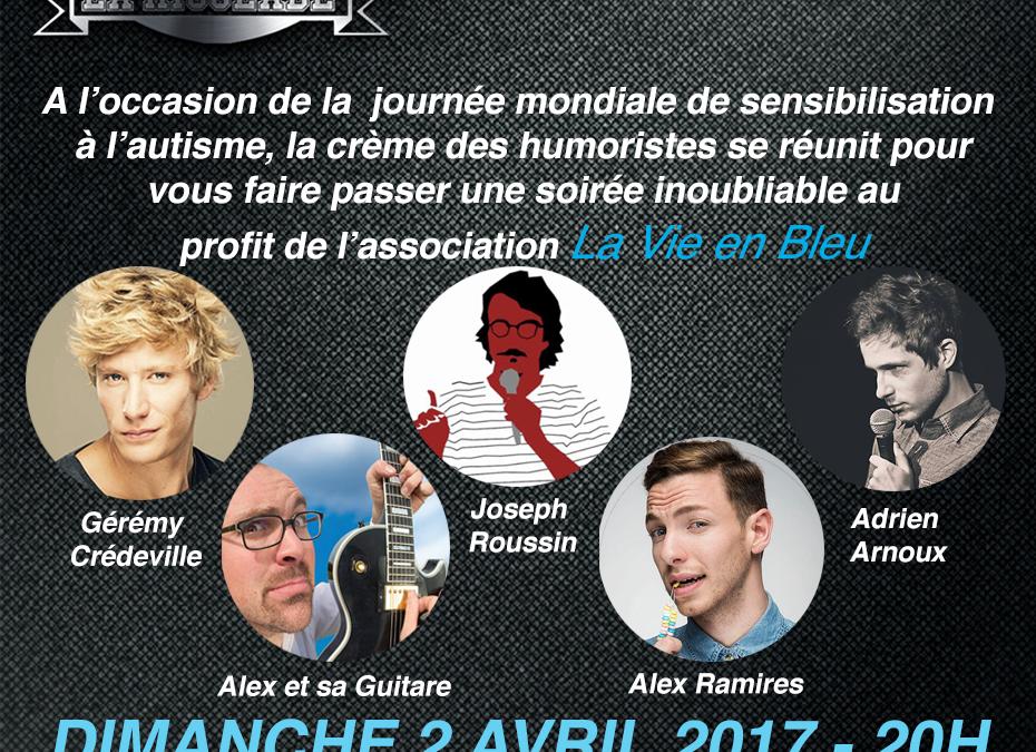 Soirée «La Rigolade voit La Vie en Bleu» 2 avril 2017